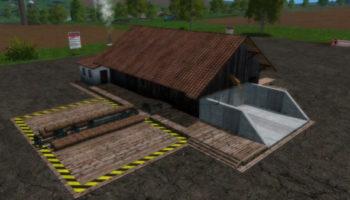 Мод лесопилка для Farming Simulator 2015