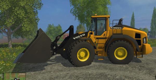 Мод погрузчик VOLVO L220H V2 для Farming Simulator 2015