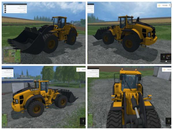 Мод погрузчик VOLVO L250H для Farming Simulator 2015