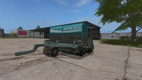 Мод сеялка БЕРЕГИНЯ АП-421 для Farming Simulator 2015