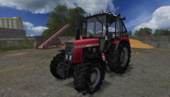 Мод трактор БЕЛАРУСЬ 952 АГРОПАНЬКА V1.0 для Farming Simulator 2015