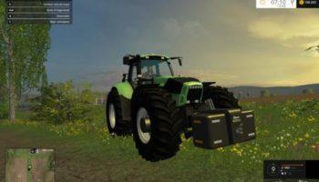 Мод трактор DEUTZ AGROTRON X720 для Farming Simulator 2015