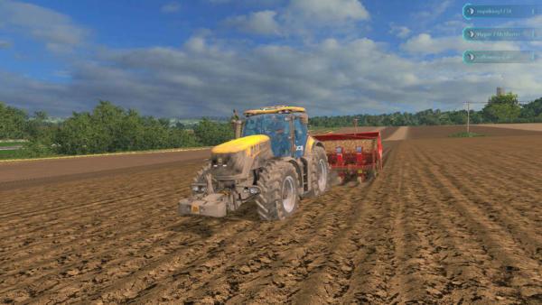 Мод трактор JCB 8310 для Farming Simulator 2015