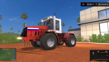 Мод трактор Кировец К-744 Р3 V1.0 для Farming Simulator 2015