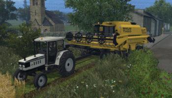 Мод трактор Lamborghini Grand Prix 774-80 2WD для Farming Simulator 2015