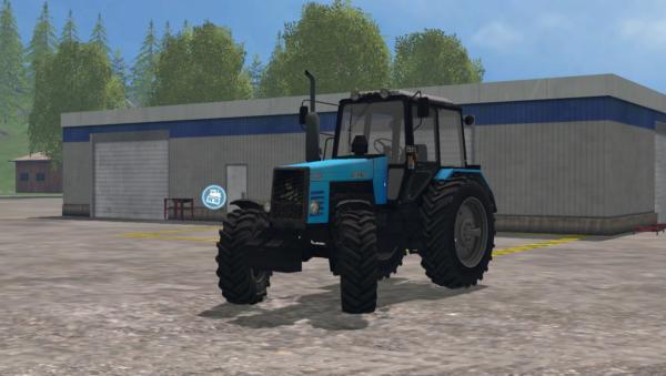 Мод трактор МТЗ-1221 для Farming Simulator 2015