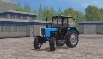 Мод трактор МТЗ-82.1 для Farming Simulator 2015