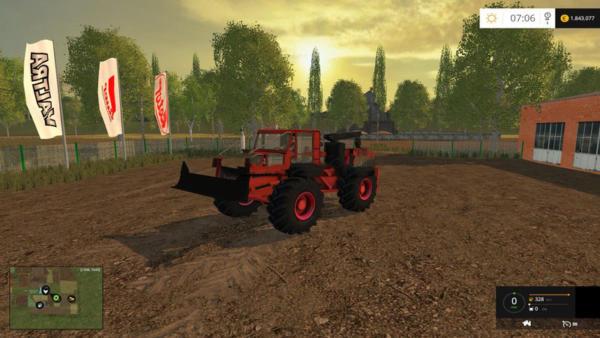 Мод трактор TAF 657 V 1.0 для Farming Simulator 2015