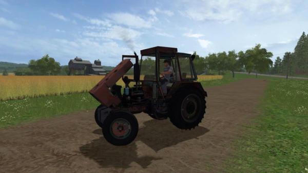 Мод трактор ЮМЗ-6 V2.0 для Farming Simulator 2015