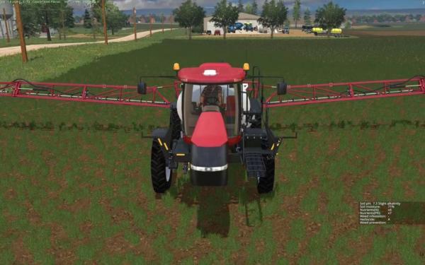 Мод Case IH 4440 Patriot Sprayer v 1.0 для Farming Simulator 2015