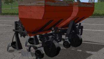 Мод КАРТОФЕЛЬНАЯ СЕЯЛКА СН-4Б V3.0 для Farming Simulator 2015