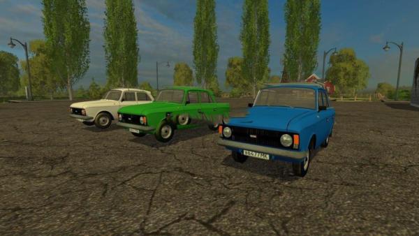 Мод авто Москвич 412 для Farming Simulator 2015