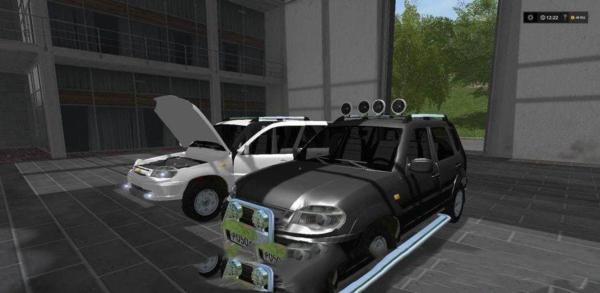 Мод авто Шевроле Нива v1.0 для Farming Simulator 2015