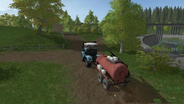 Мод бочка РЖТ 6 СТАРАЯ V1.0 для Farming Simulator 2015
