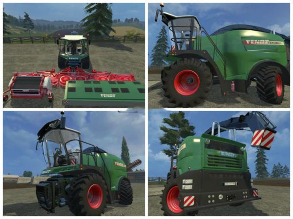 Мод комбайн Fendt Katana 85 Pack для Farming Simulator 2015