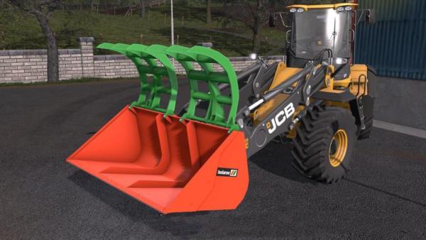 Мод ковш HOLARAS KROKO 250XL V1.0 для Farming Simulator 2015