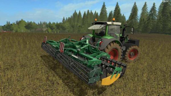 Мод культиватор KERNER HELIX 600 – DH V1.0 для Farming Simulator 2015