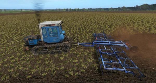 Мод культиватор КПП 8 v1.0 для Farming Simulator 2015