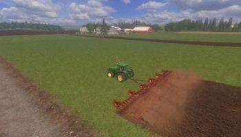 Мод культиватор SUNFLOWER 5 SECTION V2.0 для Farming Simulator 2015