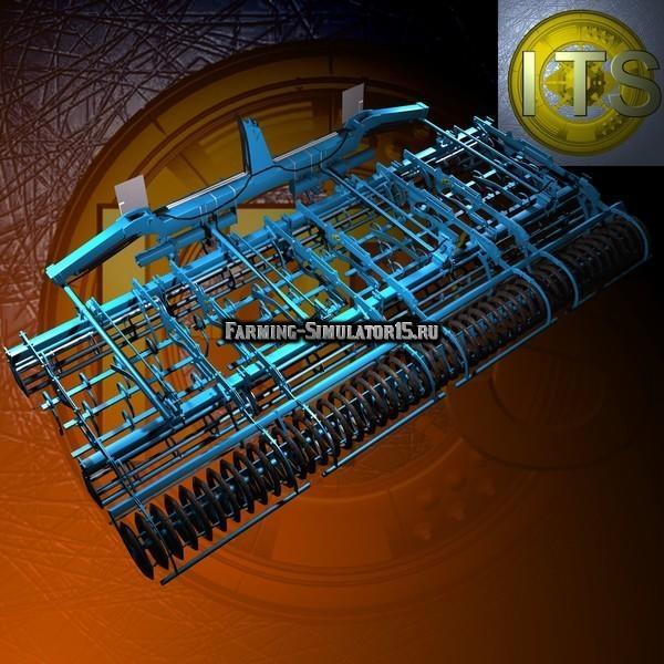Мод культиваторы Lemken Kompaktor K-Series для Farming Simulator 2015