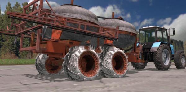 Мод опрыскиватель PZHU 9 v 1.0 для Farming Simulator 2015