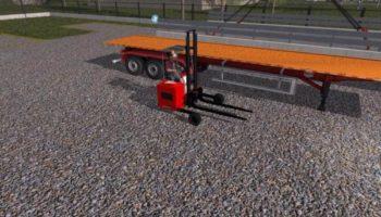 Мод погрузчик Forklift v2.4.7 для Farming Simulator 2015