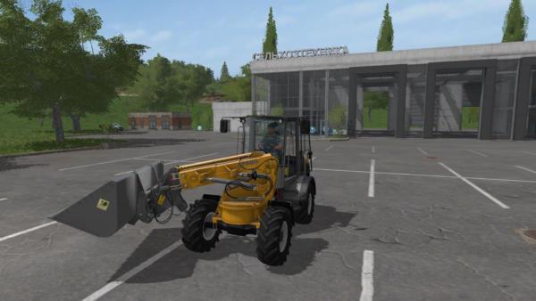 Мод погрузчик PAUS TSL 8.7 для Farming Simulator 2015