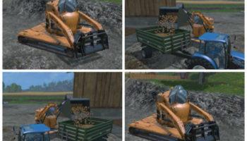 Мод погрузчик Vault-Tec Megaloader v 1.0 для Farming Simulator 2015