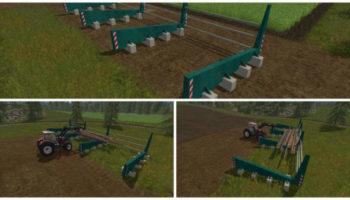 Мод поленница WOODSTACK V1.0 для Farming Simulator 2015