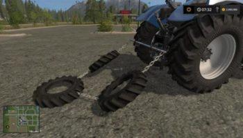 Мод полольник EIGENBAU REIFENSCHLEPPE V1.0 для Farming Simulator 2015
