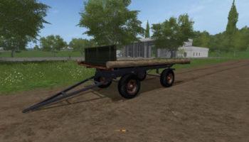 Мод прицеп ПТС ПЛОЩАДКА V1.0 для Farming Simulator 2015