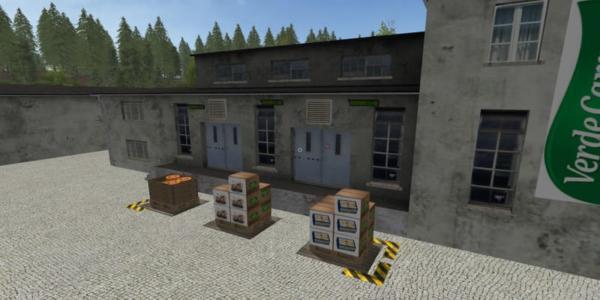 Мод производство DAIRY AGROS PLACEABLE V1.0 для Farming Simulator 2015