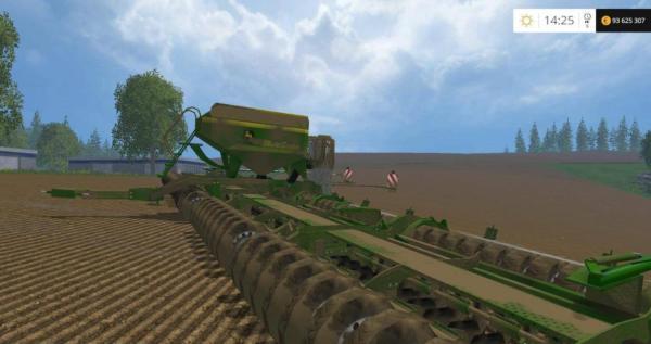 Мод сеялка JOHN DEERE MULTI SEEDER 18L V1.5 для Farming Simulator 2015