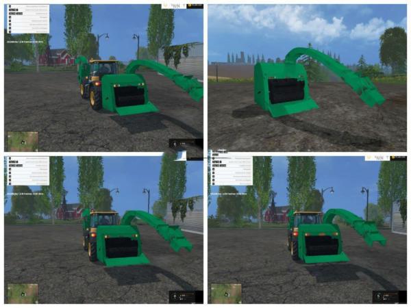 Мод щеподробилка Heck Shredder v 1.5 для Farming Simulator 2015