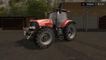 Мод трактор CASE IH PUMA CVX V1.0 для Farming Simulator 2015