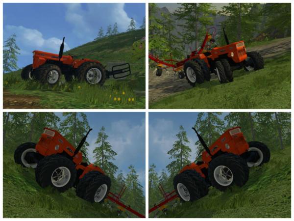 Мод трактор Fiat 450DT v 1.0 для Farming Simulator 2015