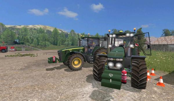 Мод трактор John Deere 8530 v 1.0 для Farming Simulator 2015