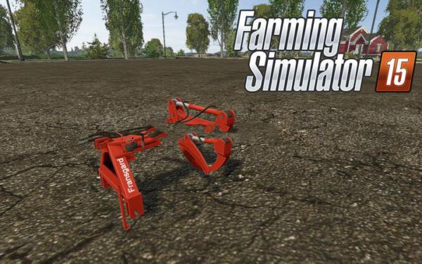 Мод захват Fransgard HZ 2300 v 1.0 для Farming Simulator 2015