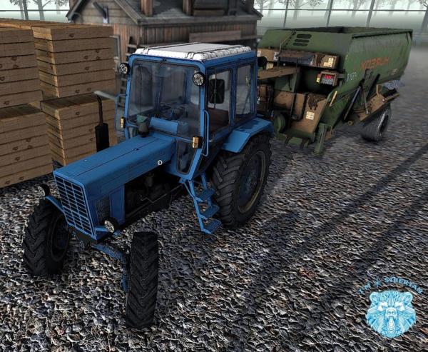 Мод ИСРК-12 ХОЗЯИН V1.0 для Farming Simulator 2015