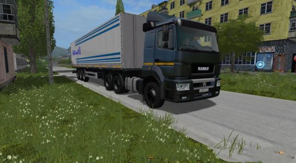 Мод КАМАЗ-65806-002-68 V2.3 GEAR BOX для Farming Simulator 2015