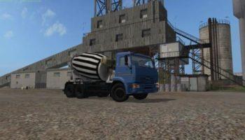 Мод Камаз 6520-029 миксер v1.0 для Farming Simulator 2015