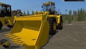 Мод ПАК погрузчики CATERPILLAR 980 25000L V1.0 для Farming Simulator 2015