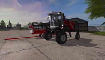 Мод РОСТСЕЛЬМАШ КСУ-1 V1.2.2 для Farming Simulator 2015