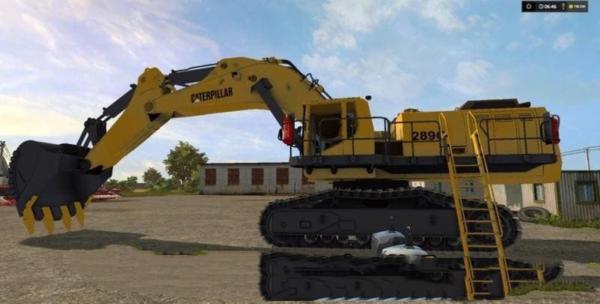 Мод экскаватор CAT 289C V1.0 для Farming Simulator 2015