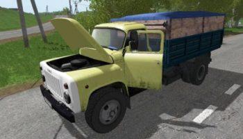 Мод грузовик ГАЗ 53 САМОСВАЛ V1.2 для Farming Simulator 2015