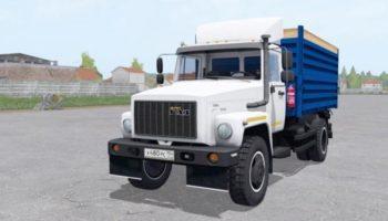 Мод грузовик ГАЗ САЗ 35071 с прицепом САЗ 83173 v1.0 для Farming Simulator 2015