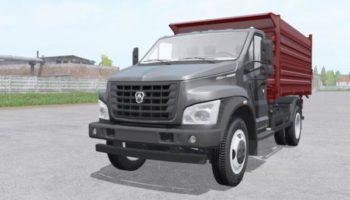 Мод грузовик ГАЗон Next C41R13 2014 v1.5 для Farming Simulator 2015