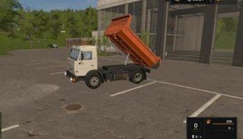 Мод грузовик КАМАЗ 43255 V1.2 для Farming Simulator 2015