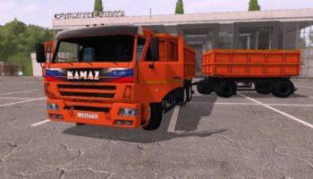 Мод грузовик КАМАЗ 45144 V2.1 для Farming Simulator 2015
