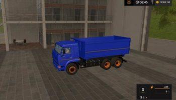Мод грузовик КАМАЗ 4528 V1.1 для Farming Simulator 2015